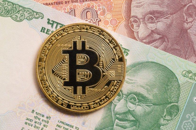 Bitcoin-rupee-notes