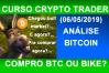 Análise Bitcoin 2019 (7). Análise técnica bitcoin hoje. Agora sobe?...e agora?..começou bull market?