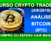 Análise Bitcoin 2019 (11). Análise técnica BTC hoje 2019. Compro ou espero cair?