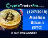 Análise Bitcoin 2019 (20). Análise técnica btc hoje. O que vem agora?